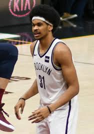 Brooklyn Nets basketball player Jarret Allen
