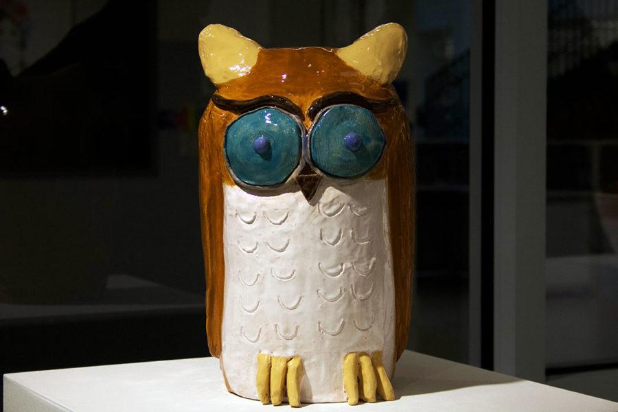 This is untitled by Caroline Schudlt in Ceramics 1.