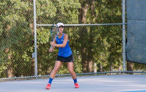 Freshman Seeded #1 on Girl's Varsity Tennis