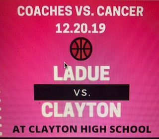 "The Coaches vs. Cancer game is set for December 20, 2019 at Clayton High School. Ladue basketball defeated Lutheran South High School in their last game to improve to a record of 2-1. ""Hopefully the entire school shows up for a good cause,"" Sophomore Class President Arman Mubeen said."