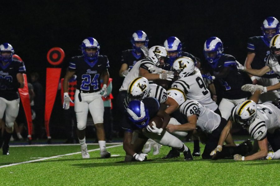Ladue varsity football wins against Lafayette in Oct. 8 game