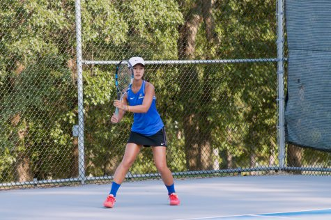 Freshman Seeded #1 on Girl's Varsity Tennis