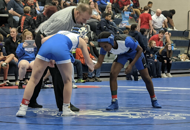 Wrestling team adds 3 girls to roster