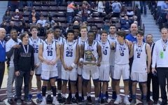 The Ladue boys basketball team places third in state. They lost to St Marys in the third place playoff game of the 2018-2019 season. Don't sleep on us