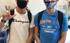 Cross Country Teammates Battle it Out for First